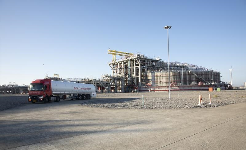 Fluxys test interest for Zeebrugge LNG truck loading capacity