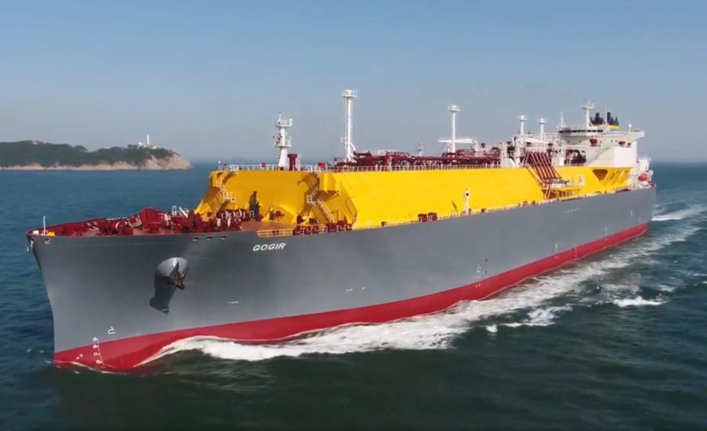 LNG carrier Qogir