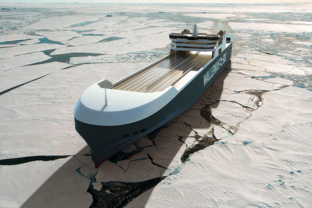 Wallenius SOL LNG-powered ship