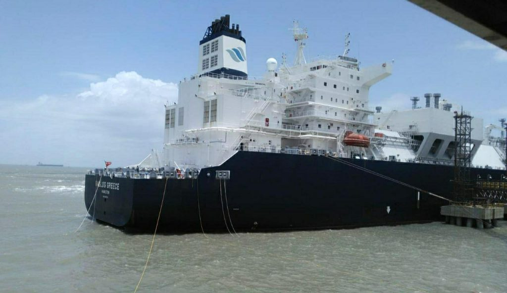 Mundra LNG terminal receiving 10th cargo