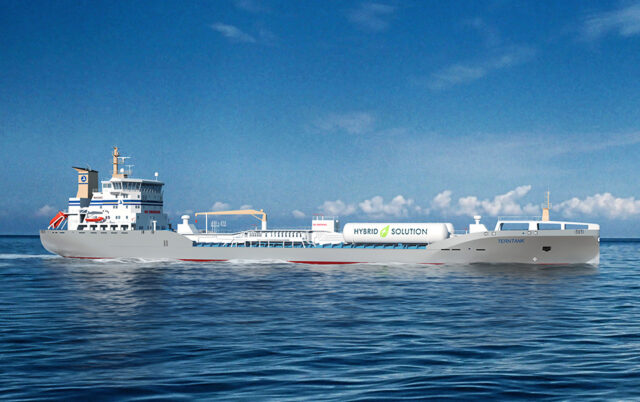 Terntank's hybrid tanker