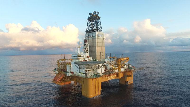 Deepsea Stavanger rig