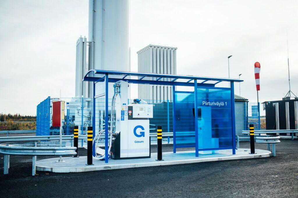 Gasum opens LNG-LBG station in Lieto