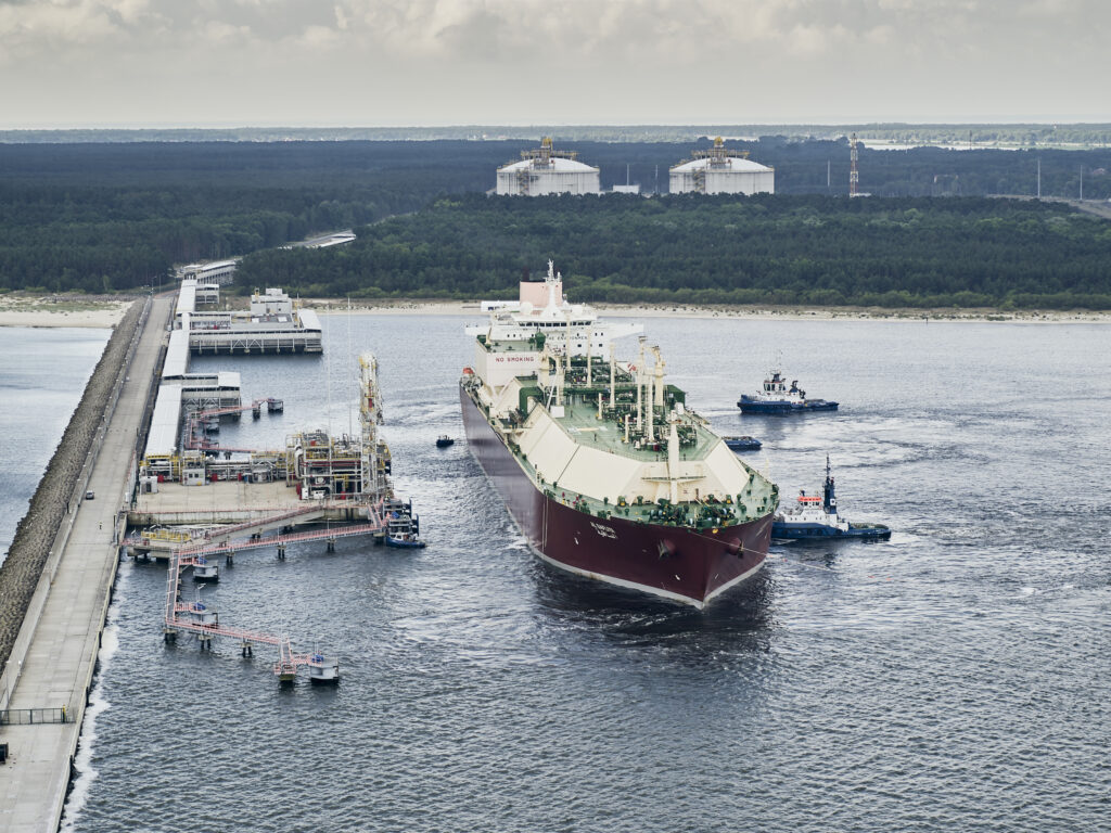 Polish LNG terminal receives milestone 100th cargo