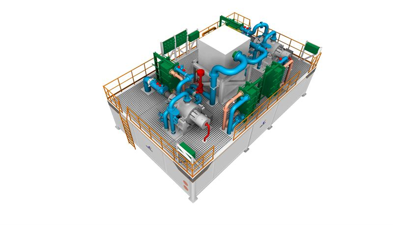 Wärtsilä develops compact BOG reliquefaction system