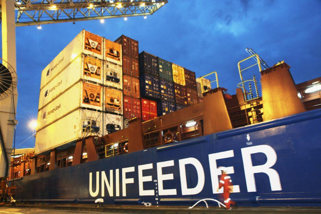 Unifeeder vessel