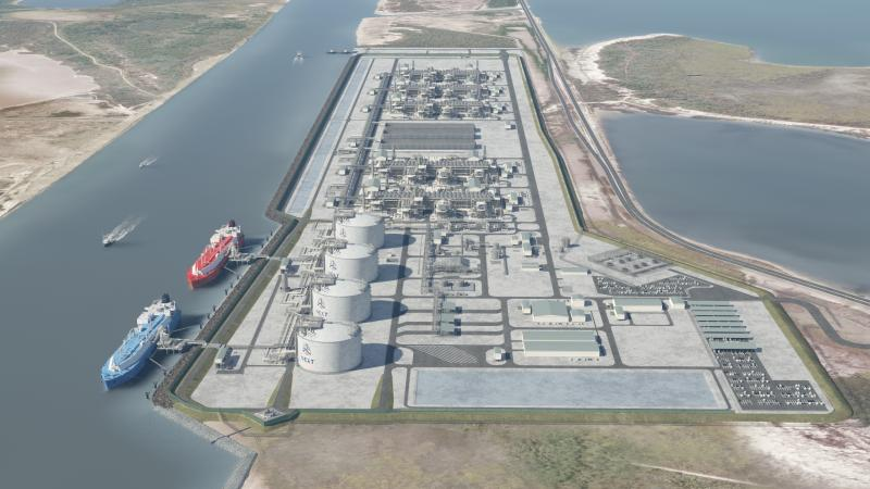 NextDecade cuts one Rio Grande LNG train in optimization move