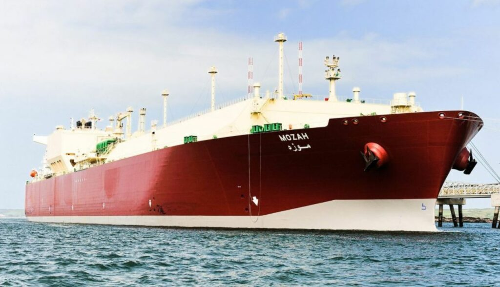 Q-Max LNG carrier Mozah