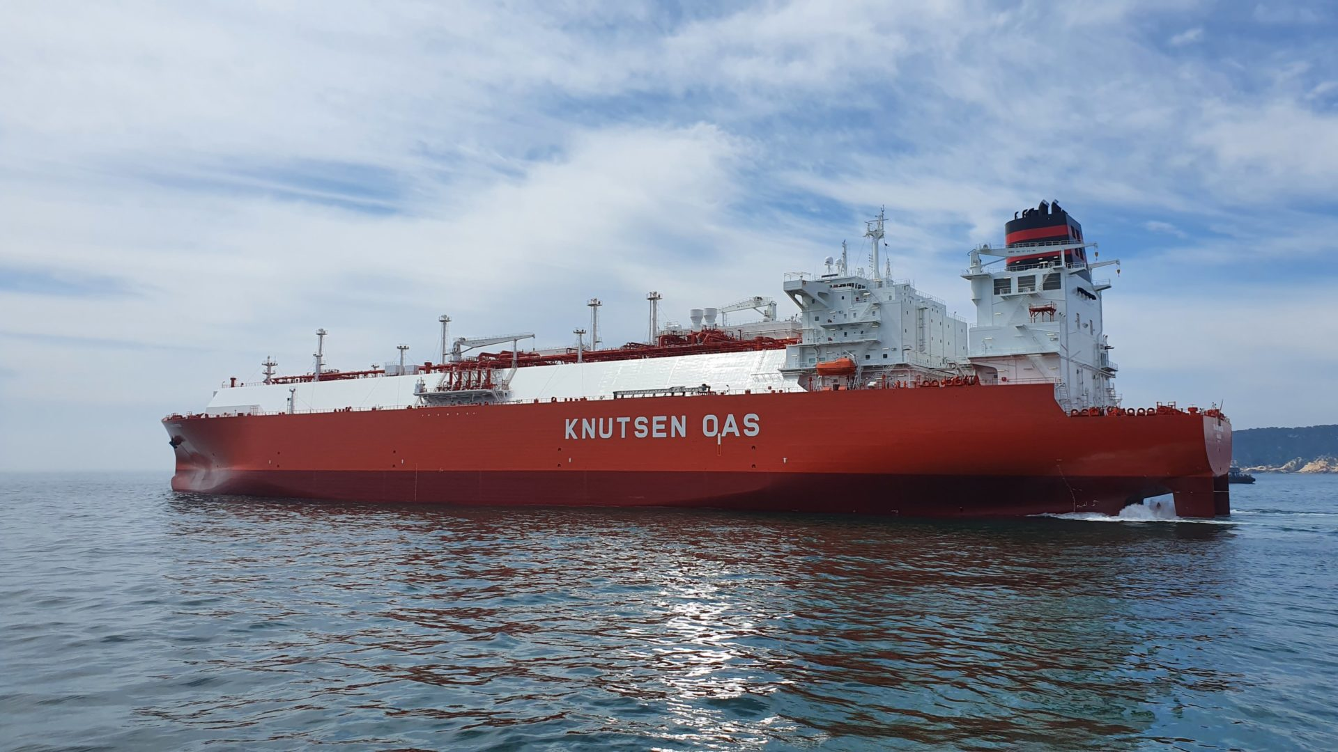Knutsen LNG carrier