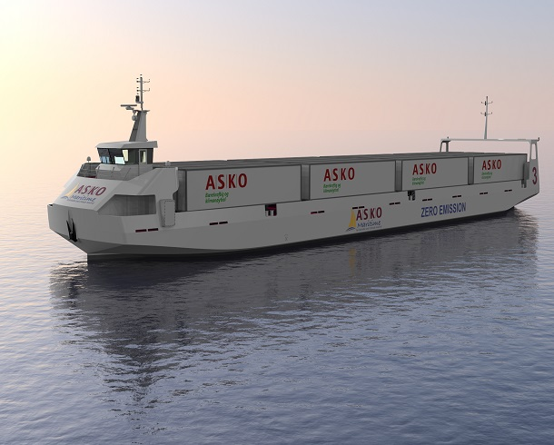 autonomous electric ferry