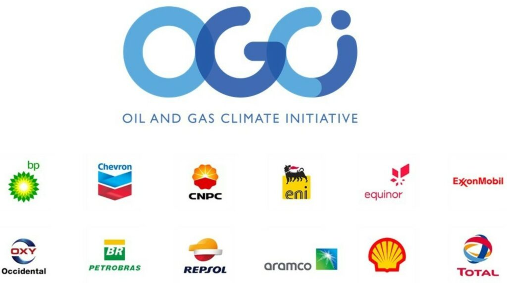 Member companies of OGCI; Source: OGCI