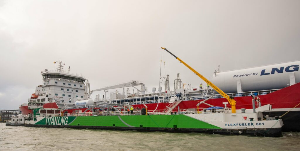 Titan's bio-LNG project gets EU backing