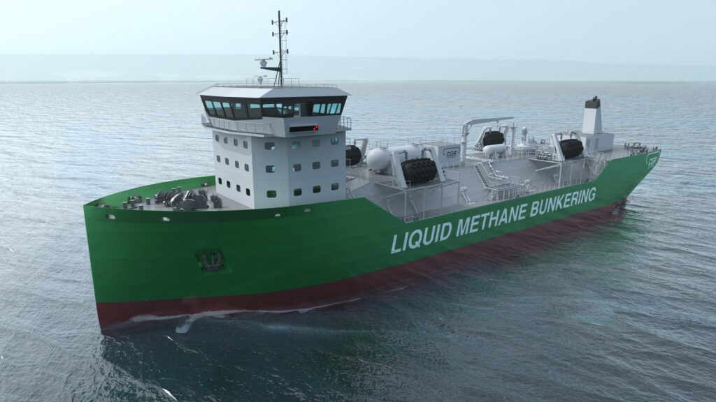 Kanfer, CGR pair up on LNG bunkering vessels development
