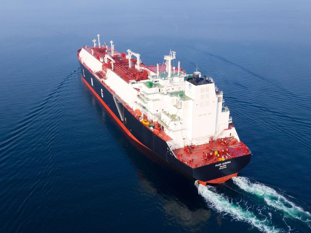 Flex takes delivery of first 2020 LNG newbuild