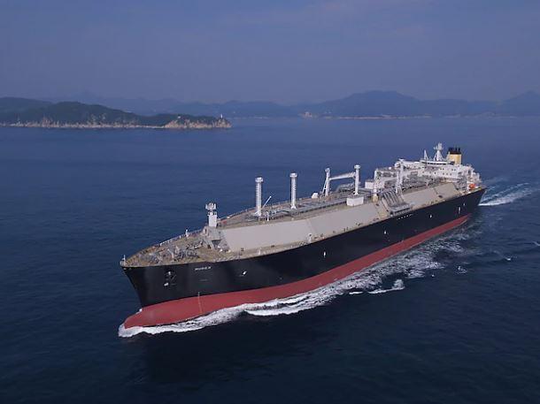 Shell's Murex LNG carrier