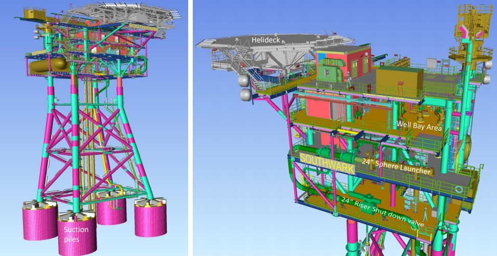 Southwark platform design; Source: IOG