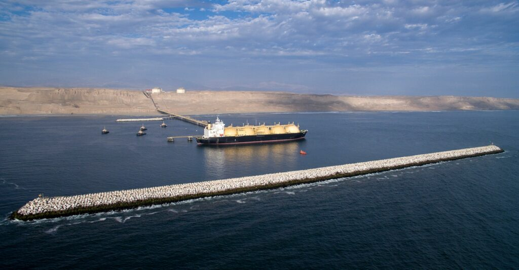 Peruvian LNG exports jump in July