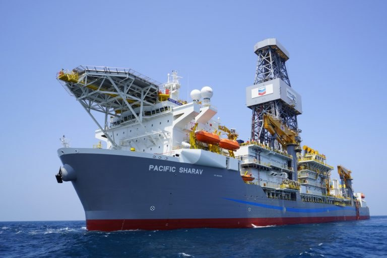 Pacific Sharav drillship