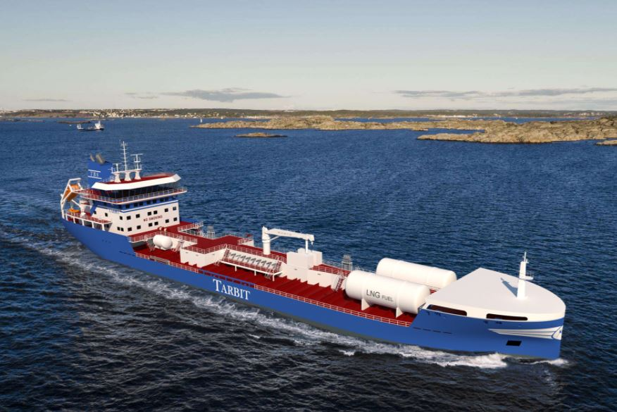 Gloryholder scores contract for Tarbit's LNG-powered tankers