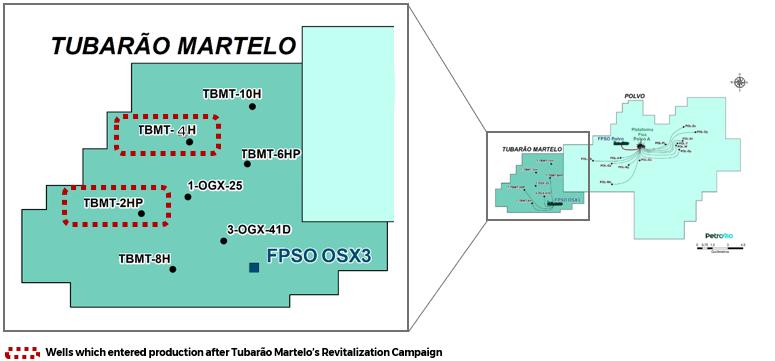 Tubarao Martelo map; Source: PetroRio