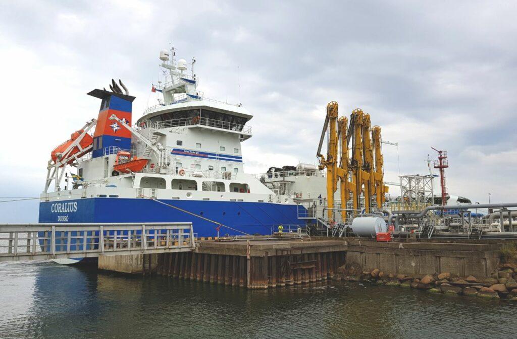 PGNiG receives second LNG load at Klaipeda