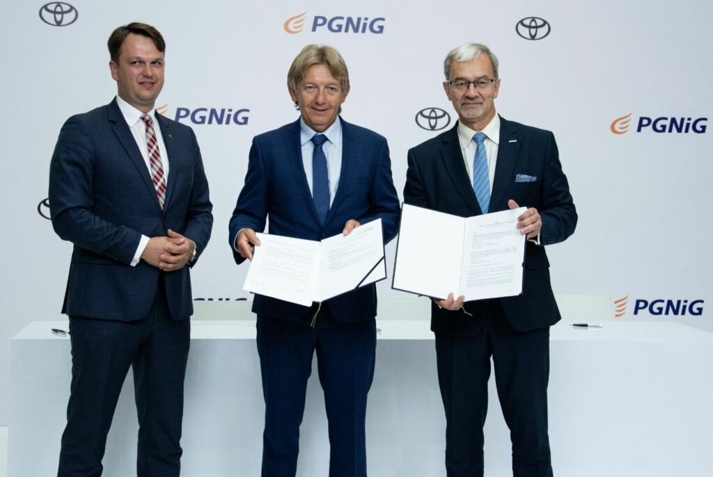 PGNiG inks hydrogen deal with Toyota