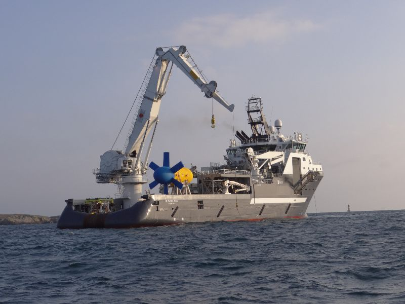 Sabella D10 tidal turbine