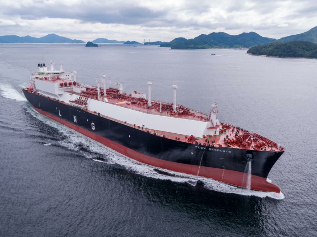 Flex LNG takes delivery Flex Resolute