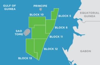 São Tomé & Príncipe assets; Source: Kosmos Energy