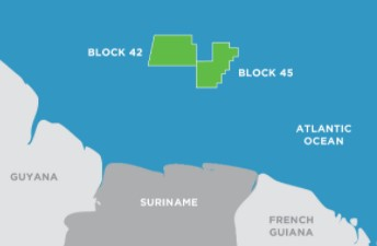 Suriname assets; Source: Kosmos Energy