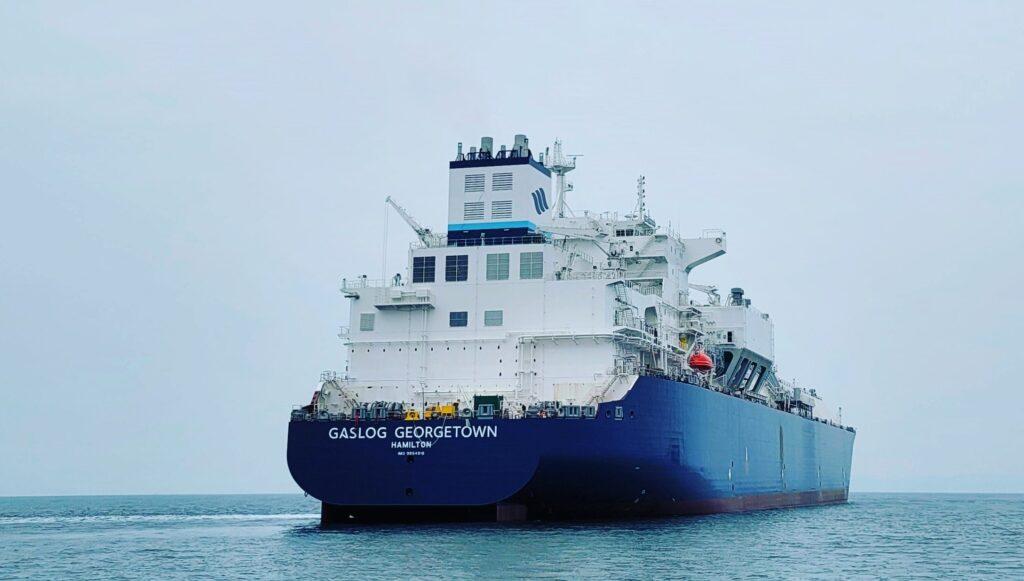 GasLog's LNG newbuild starts sea trials