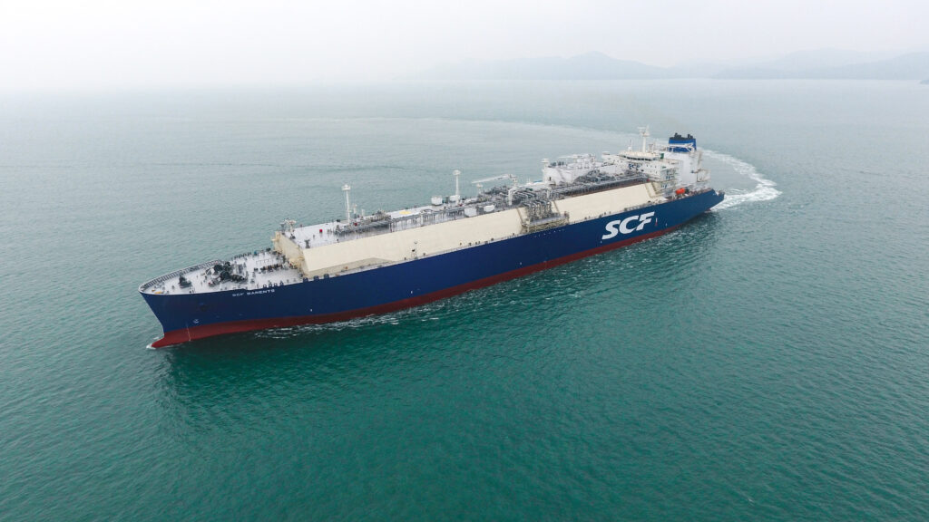 SCF takes delivery of Shell-chartered LNG newbuild