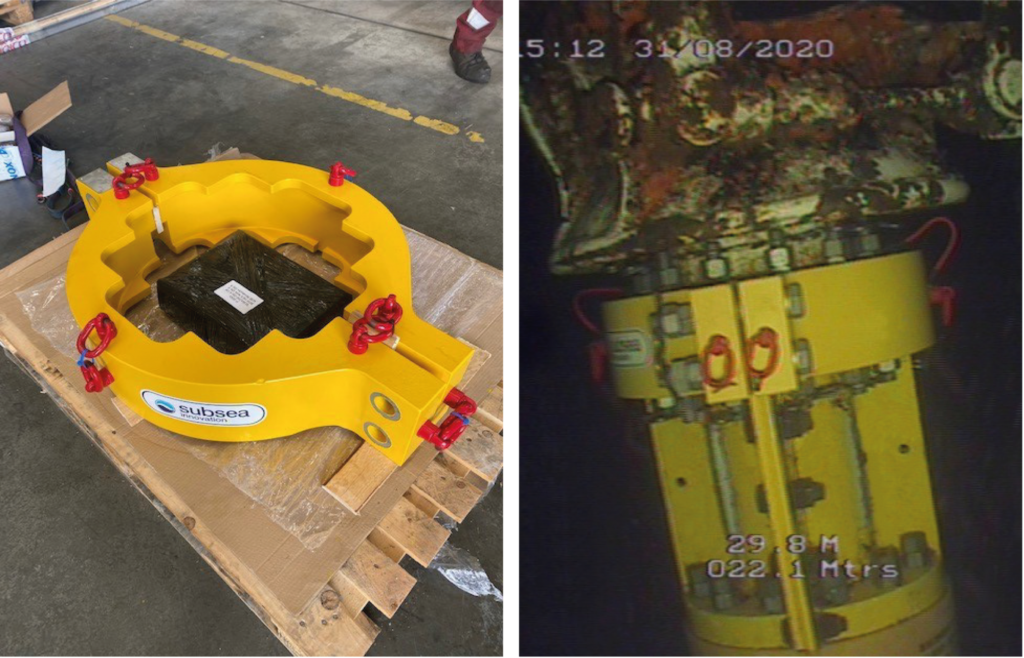 Subsea Innovation hang-off for Flexlife