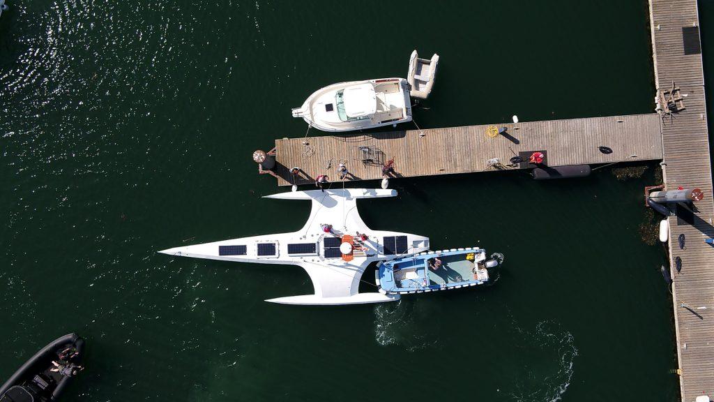 launching of Mayflower autonomous ship