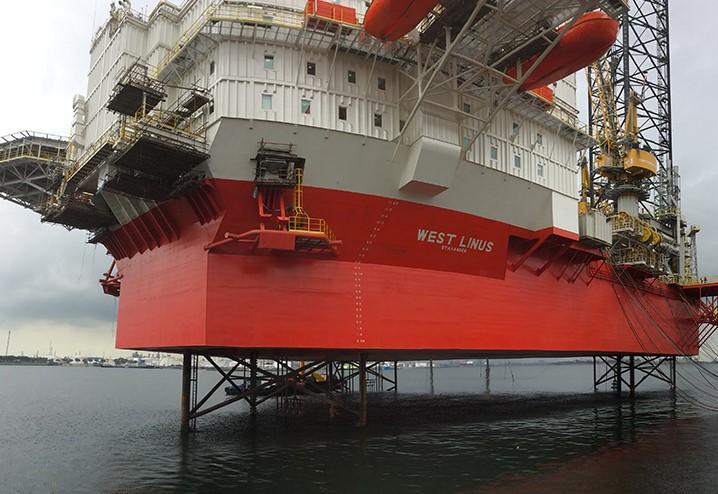 West Linus rig