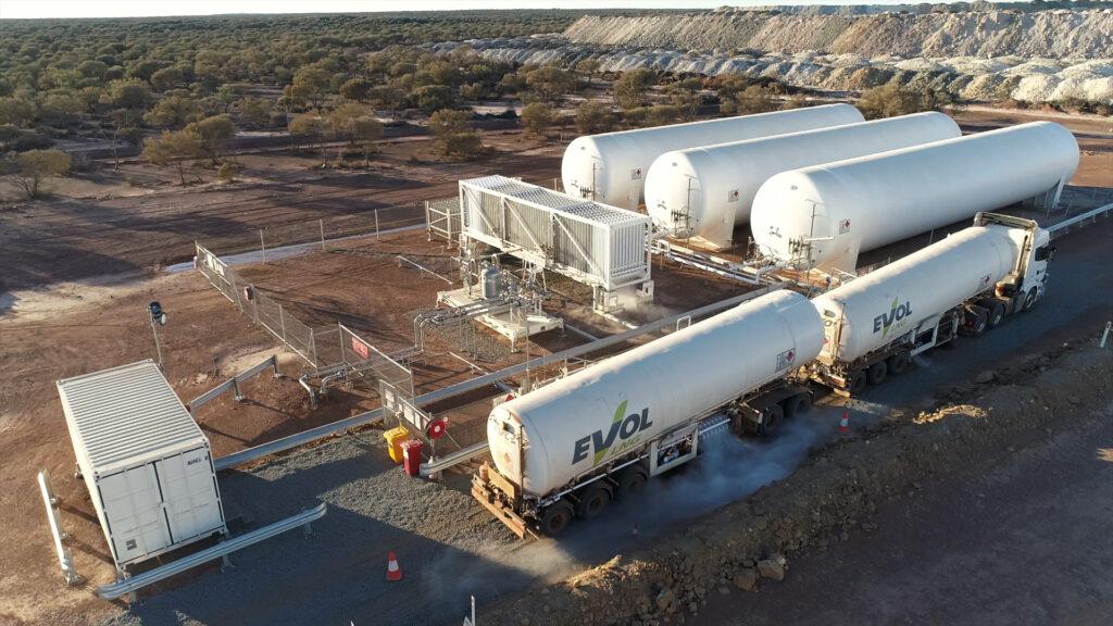 Evol LNG inks supply deal with Ora Banda Mining