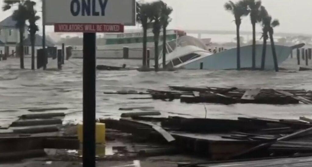 Effects of Hurricane Sally