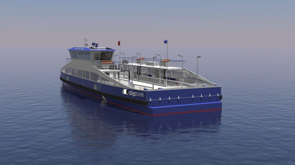 Corvus Energy batteries will be installed on the five all-electric ferries being built for GVB at Holland Shipyards Group in the Netherlands