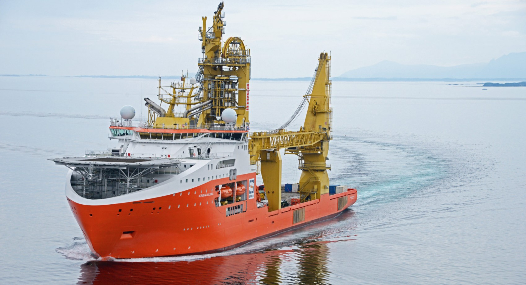 Solstad Offshore receives early charter termination for 'Normand Maximus'