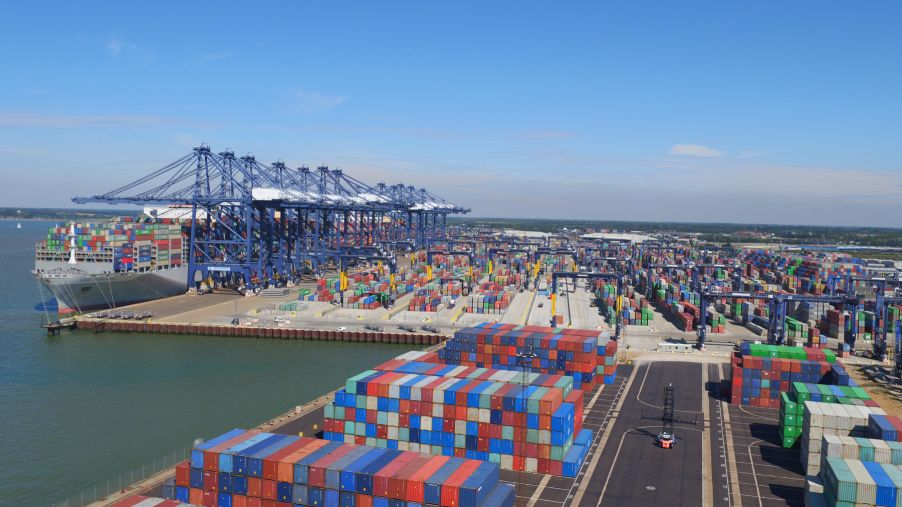 Port of Felixtowe