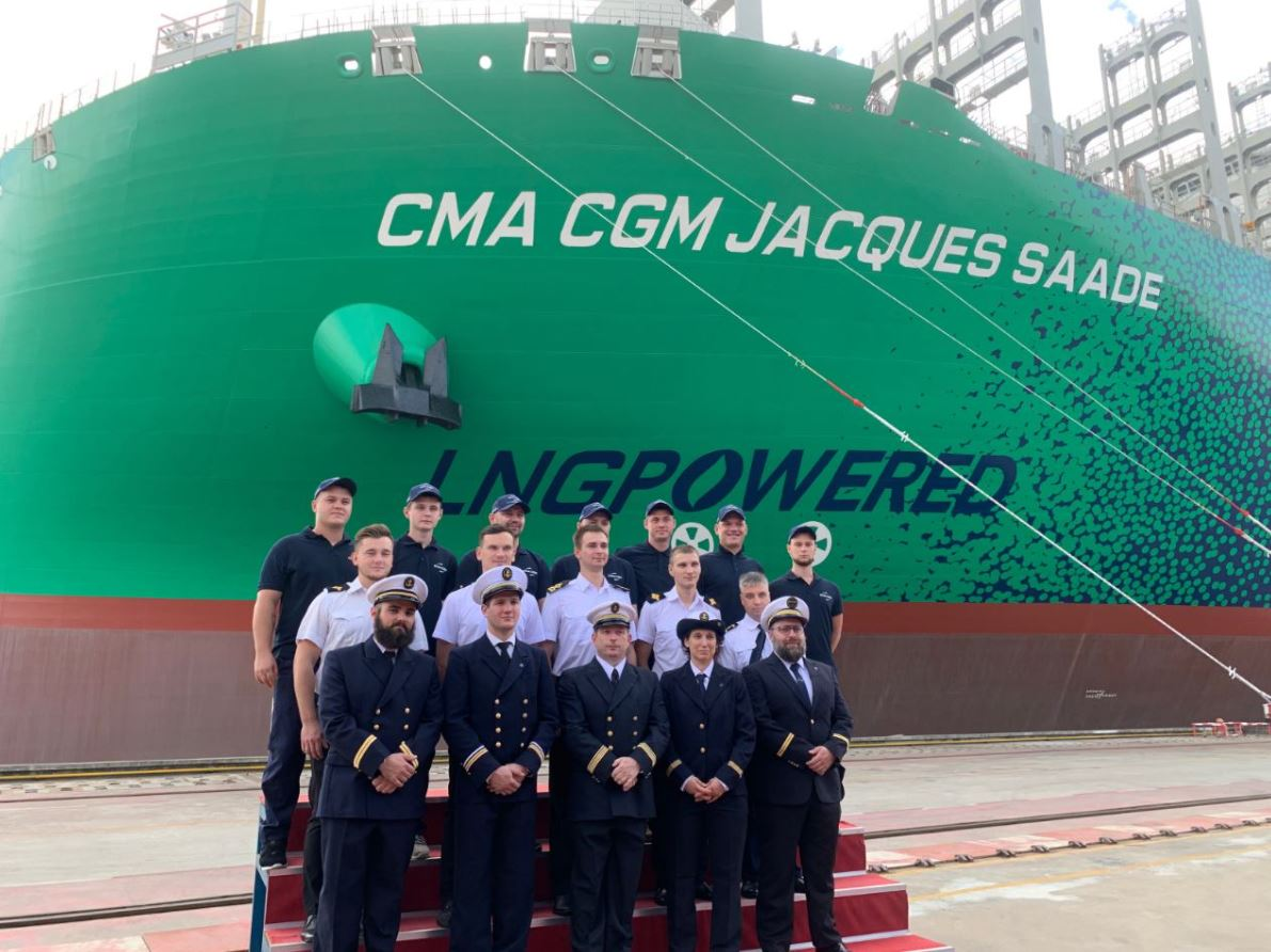 CMA CGM takes delivery of world's largest LNG-powered vessel