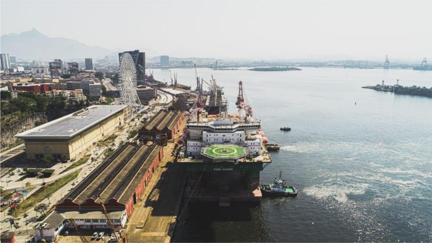 POSH Xanadu at Triunfo port in Rio de Janeiro