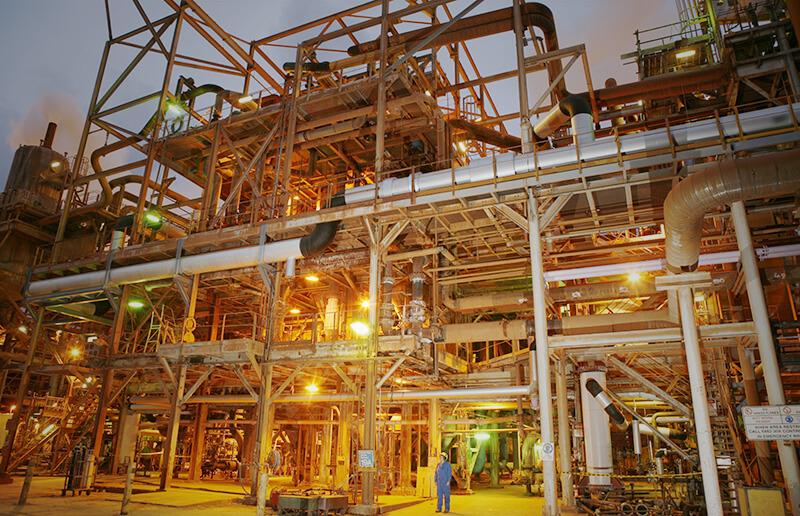 Alcoa's Pinjarra refinery in Western Australia