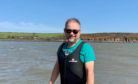 Pembrokeshire Coastal Forum CEO Steve Hall