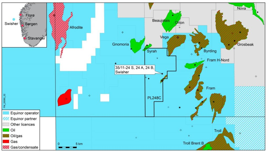 The Swisher prospect map. Source: Equinor