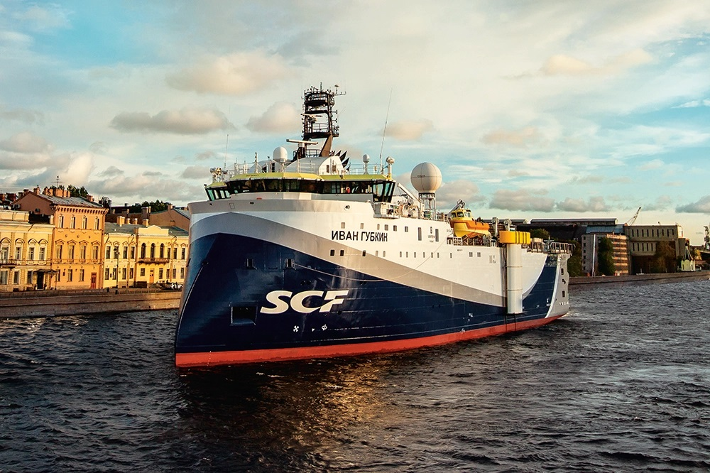 Polarcus vessel Ivan Grubkin