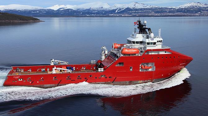 Skandi Vega vessel - DOF