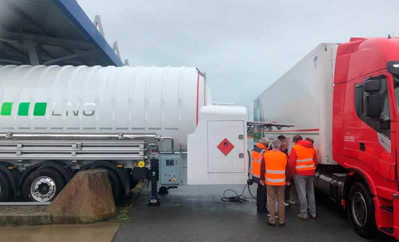 HAM commissions mobile LNG fueling unit in Calais