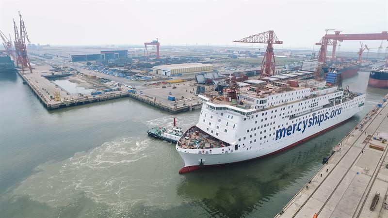 Global Mercy hospital ship