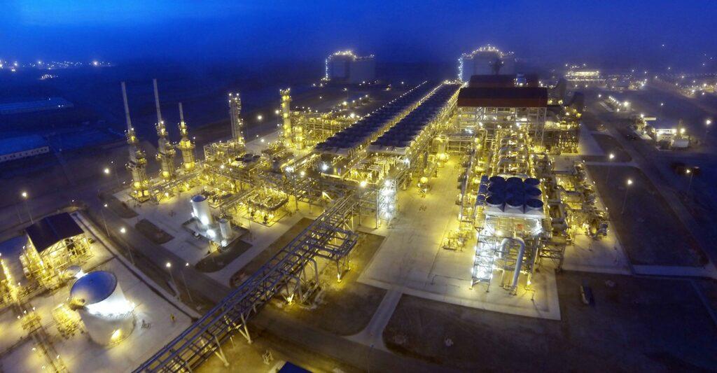 Peruvian LNG exports dip in September